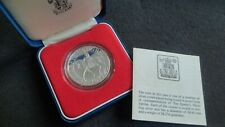 ROYAL MINT 1977 QUEEN'S JUBILEE SILVER  PROOF COMMEMORATIVE CROWN