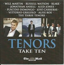 TENORS - TAKE TEN - MAIL ON SUNDAY PROMO MUSIC CD