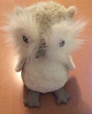 "Pier 1 Imports Sparkly Owl Plush 11"""