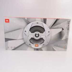 "JBL MS8LW 8"" Multi Element Marine Speaker RGB LED 150w Pair *NEW OLD STOCK*"