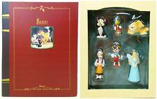 Disney Pinocchio Storybook Christmas Collection Ornament Set NRFB