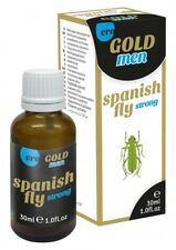 30 Ml Spanish Fly Men Gold Strong Drops 24h CE Marked UK Stock Discreet