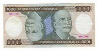 1000 Cruzeiros Brasilien 1985 C164 / P.201c -  Brazil Banknote