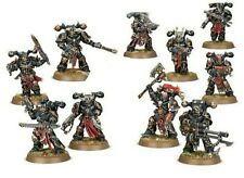 NEW on Sprue - 10x Chaos Space Marines - Warhammer 40k