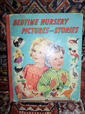 Antique~Bedtime Nursery Pictures and Stories ~ Printed in London/ illustrated