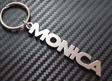 Monica nom personnalisé Porte-clé Porte-clé sur-mesure ACIER INOXYDABLE CADEAU