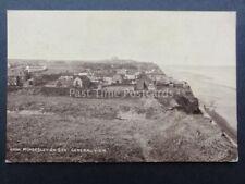 Norfolk: Mundesley on Sea A GENERAL VIEW OF HOUSES ALONG COASTLINE c1913