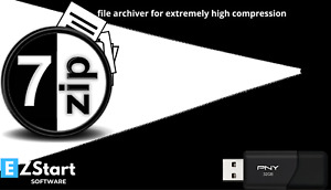 7-Zip File Archiver for Extremely High Compression Extraction