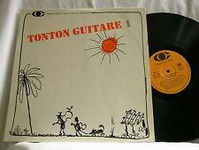 ROGER CHAPUT Tonton Guitare 1 Jean-Francois Gael LP played with Django Reinhardt