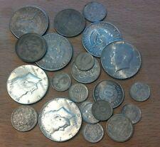 Konvolut 115g Silber ab 1915, mit USA Dollar, Holland, Schweden, Finland, Japan