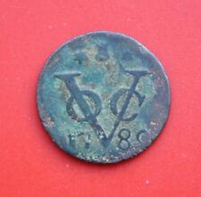 Países Bajos: VOC 1 Duit de 1789, provincia de Zeeland, #F 2104