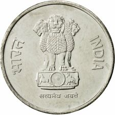 [#429471] INDIA-REPUBLIC, 10 Paise, 1988, AU(50-53), Stainless Steel, KM:40.1