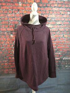 EUC women's DULUTH TRADING CO purple HOODIE sweatshirt - SIZE XXL / BARELY WORN