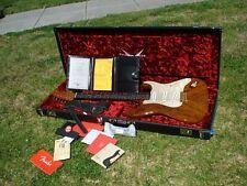 Fender Custom Shop Artisan Claro Walnut Stratocaster CW Fleming 6.9 lbs