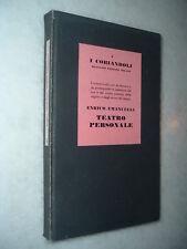 1945  Enrico EMANUELLI: Teatro personale - Prima Edizione !!!