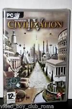 SID MEIER'S CIVILIZATION IV 4 GIOCO NUOVO PC DVD EDIZIONE UFFICIALE ITALIANA PG
