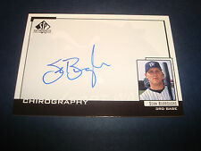 Sean Burroughs Wizards Padres Signed Certified AutoUpper Deck SP Top Prospect A9