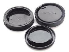 Three Cap Combo Two Rear Lens Cap One Body Ca  Minolta Maxxum Sony Alpha  New