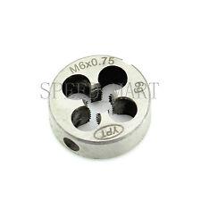Metric Die Wrench Set Fine Pitch Thread Machine M6*0.75 Round Dies