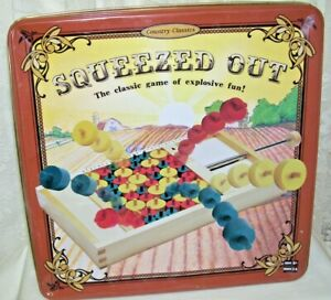 Squeezed Out Game in Tin Box 2005 Fundex Game