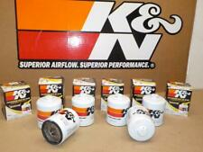 SIX K&N HP-1017<>Wrench-Off OIL FILTERS ~fits CHEVY, RAM, GMC, DODGE TRUCKS