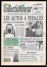 La Vie du collectionneur N°10 -  Autos à pédales, vieux papiers, jeux olympique