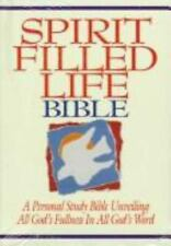 Spirit Filled Life Bible: A Personal Study Bible Unv