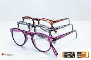Reading Glasses contemporary looks 3 strengths, upto 10% 0ff! +2.0, +2.5, +3.0