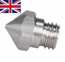 Mk10 stainless steel .4mm  M7 thread nozzle for Dremel, Wanhao, Flashforge etc