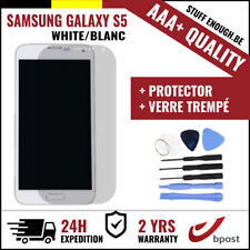 AAA+ LCD SCHERM/ÉCRAN WHITE & SCREEN GUARD + TOOLS FOR SAMSUNG GALAXY S5 I9600