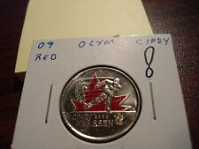 2009 - Paint - Cindy Klassen - Canada 25 cent - Brilliant Uncircuated
