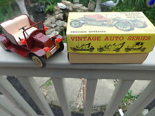Vintage Auto Series Friction Operated Car No.2 1960s Made in Japan TN TRADE MARK