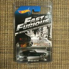 Hot Wheels 2013 4/8 Fast And Furious 1967 Mustang Mint VGC Card Protect Pack