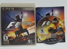 Cib F1 2010 (Sony PlayStation 3, 2010) ps3 Complete