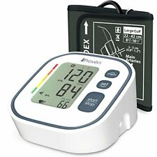 Digital Automatic Blood Pressure Monitor - Upper Arm Cuff - Large Screen