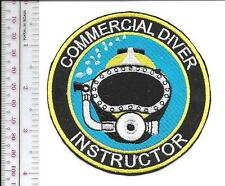 SCUBA Hard Hat Diving Commercial & Salvage Diver Instructor Qualification Pat sm