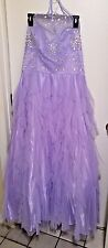 MASQUERADE Lavender Formal Prom Gown 16/17 junior - $80.00