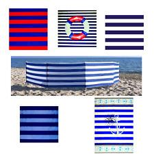 Windschutz Sichtschutz Baumwolle 500x75 cm in 5 Motiven Sonnenschutz Strand