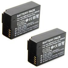 2x Battery for PANASONIC DMW-BLC12 E DMW-BLC12GK DMW-BLC12PP DE-A80A DMW-BTC6