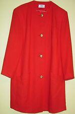 25) Superbe rouge femmes Blaser avec goldknöpfen taille 42 de la firme MD collection