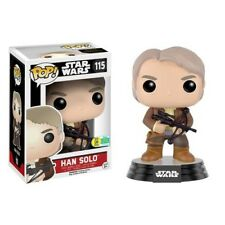Han Solo with Bowcaster Star Wars Pop! Vinyl Figure #115 SDCC16 Exclusive