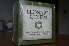 Leonard Cohen Complete Columbia Albums Collection (18 CDs) rare box set NEW OOP