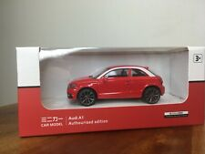 Audi A1 1:43 Diecast Car Model Toy Display RED NEW NIB vw golf gti mkv mk1 mk6