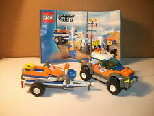 LEGO City - GUARDIA COSTIERA - Jeep con rimorchio no. 7737mit BA