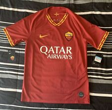 AS Roma Jersey 19/20 Home NWT Medium Nike 2019/20