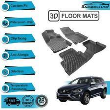 3D Molded Interior Car Floor Mat for Volvo XC60 2009-2017(Black)