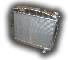 THE BEST 1957 Chevy Bel Air Nomad Aluminum Radiator -6 Cyl Position Manual Trans