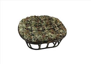"""Double Papasan Cushion (not frame) -fits 45x65"""" frame INCLUDES SHIPPING"""