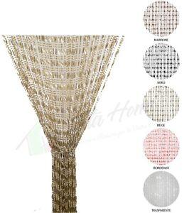 Tenda antimosche tenda anti insetti porta finestra misura 100x220 cm 5 colori
