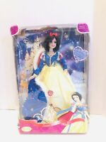 """Disney Snow White Enchanted Evening Procelain Collection Brass Key 14"""" Doll"""